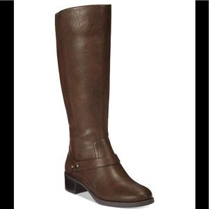 EASY STREET JEWEL PLUS WIDE CALF RIDING BOOT 6.5